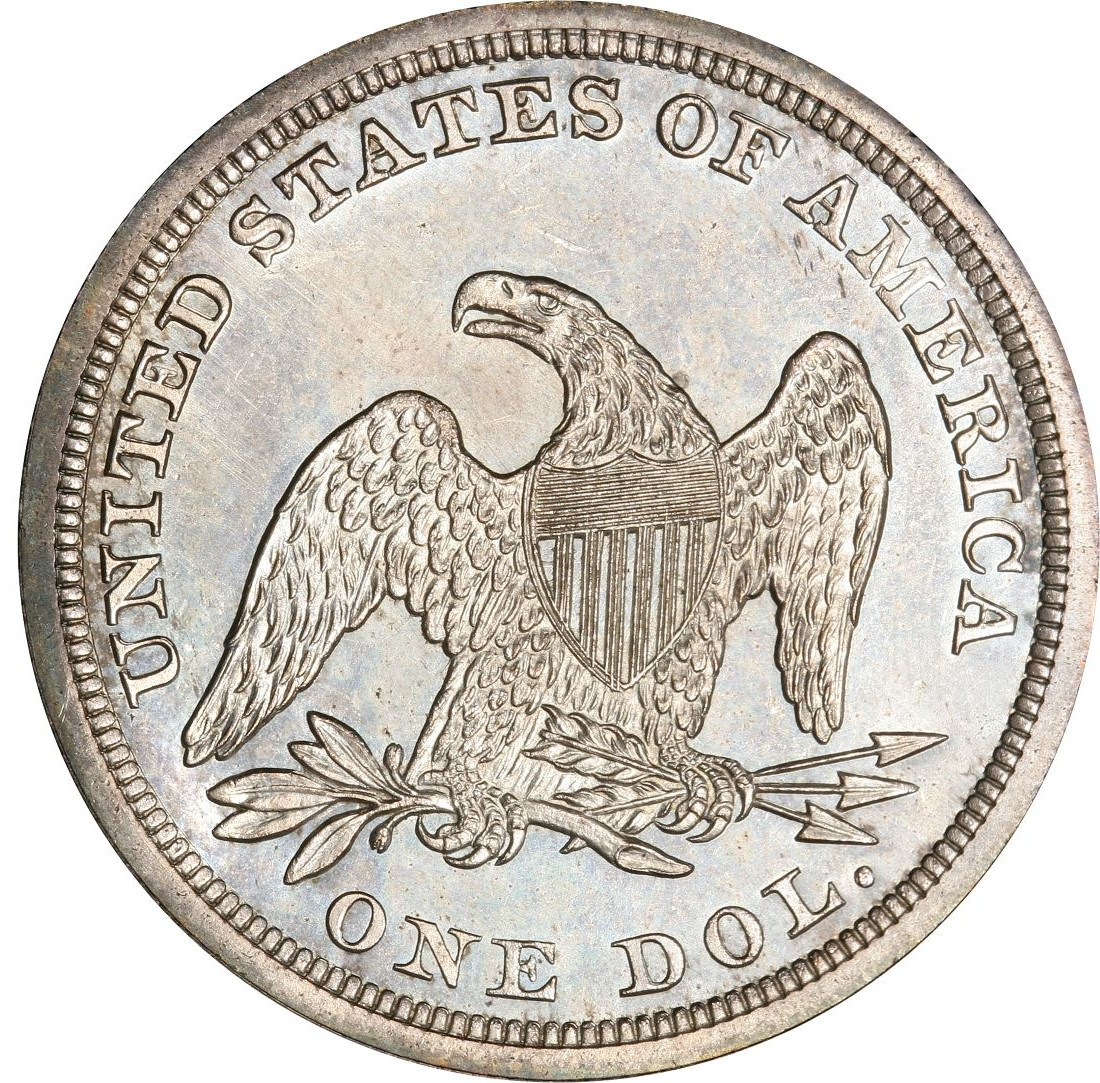 1852 Seated Liberty Silver Dollar Values and Prices - Past