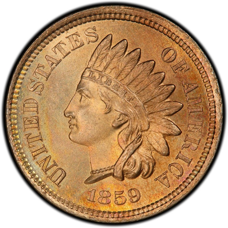1859 Indian Head Pennies Values And Prices Past Sales Coinvalues Com,Pictures Of Ribs On The Grill