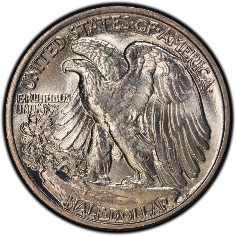 1946 Walking Liberty Half Dollar Values And Prices Past
