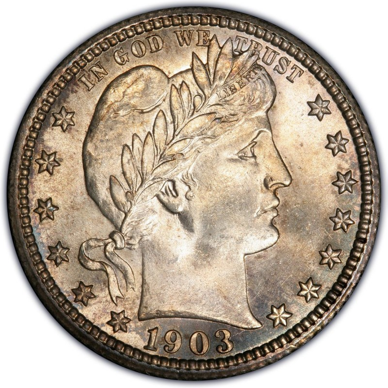 1903 Barber Quarter Values And Prices Past Sales