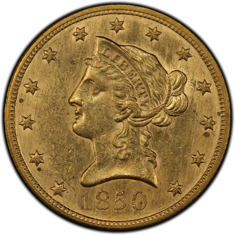 1850 Liberty Head 10 Gold Eagle Values And Prices Past