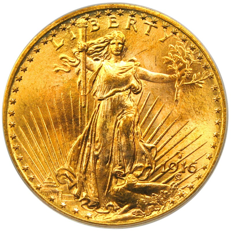 1916 Saint Gaudens Double Eagle Values And Prices Past