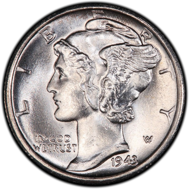 1943 Mercury Dime Values And Prices Past Sales