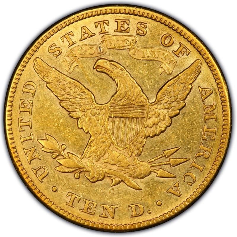 1875 Liberty Head 10 Gold Eagle Values