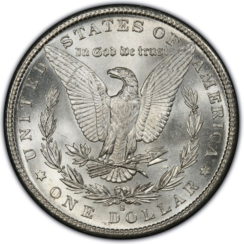 1885 Morgan Silver Dollar Values and Prices - Past Sales