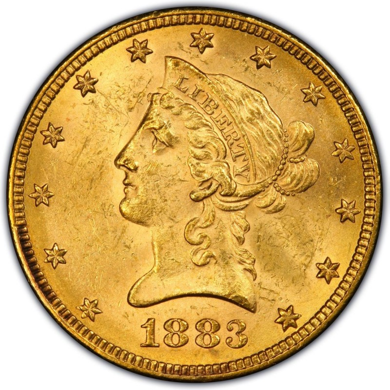 1883 Liberty Head 10 Gold Eagle Values And Prices Past