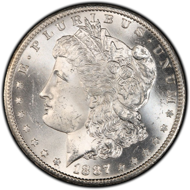 1887 Morgan Silver Dollar Values And Prices Past Sales