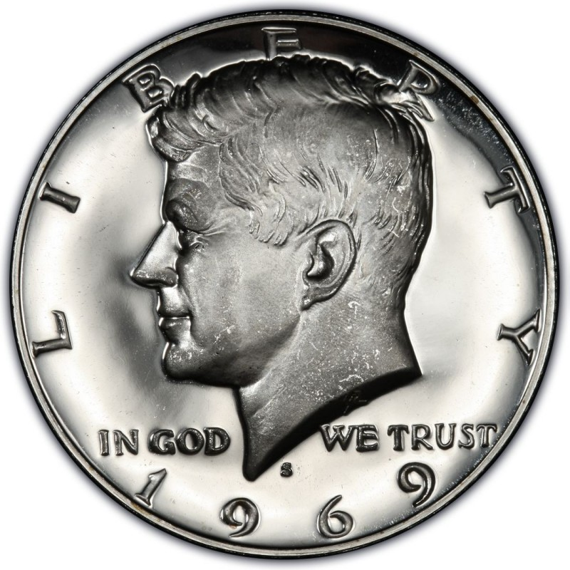 1969 Kennedy Half Dollar Values And Prices Past Sales