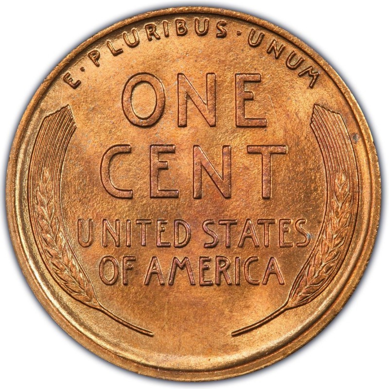 What does a 1944 steel penny look like