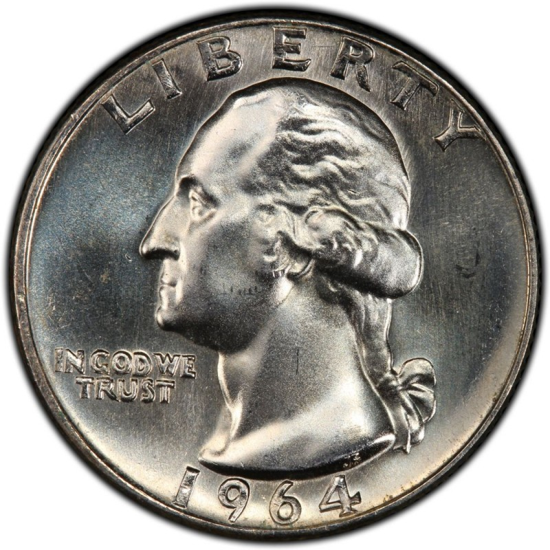 1964 Washington Quarter Values And Prices Past Sales
