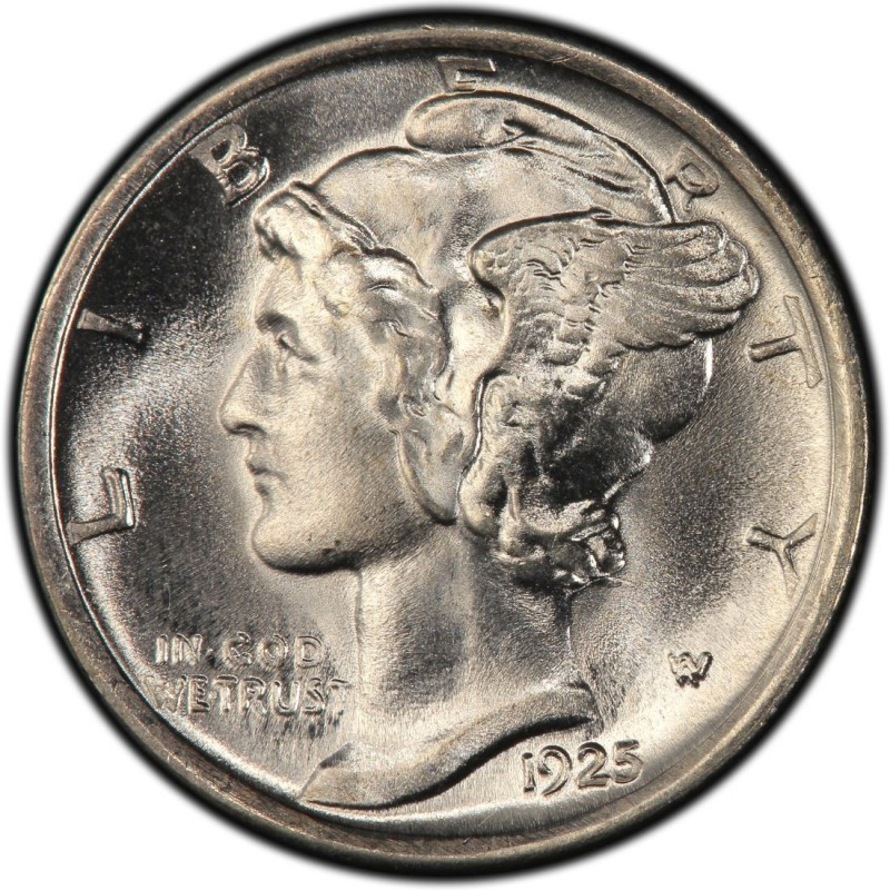 1925 Mercury Dime Values And Prices Past Sales