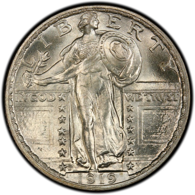 1919 Standing Liberty Quarter Values And Prices Past