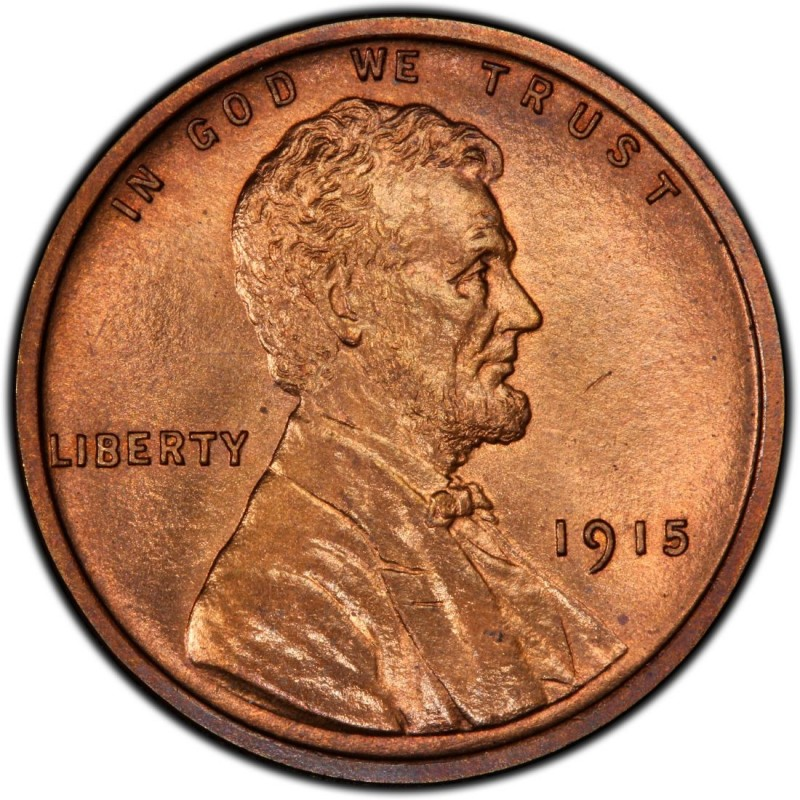1915 Lincoln Wheat Pennies Values and Prices - Past Sales ...