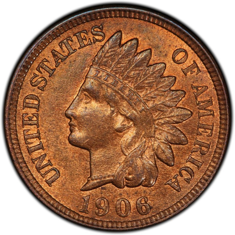 1906 Indian Head Pennies Values And Prices Past Sales