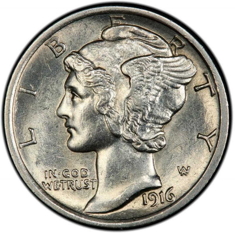 1916 Mercury Dime Values And Prices Past Sales