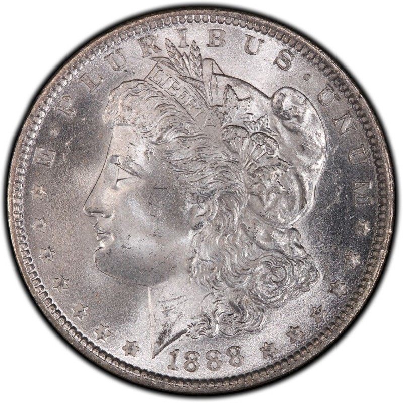 1888 Morgan Silver Dollar Values And Prices Past Sales