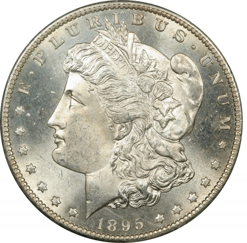 1895 Morgan Silver Dollar Values And Prices Past Sales