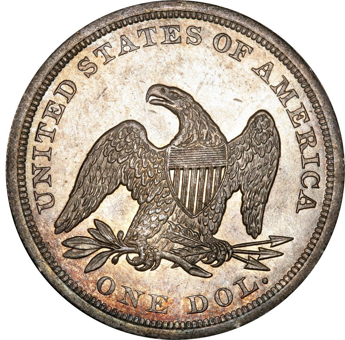 1842 Seated Liberty Silver Dollar Values