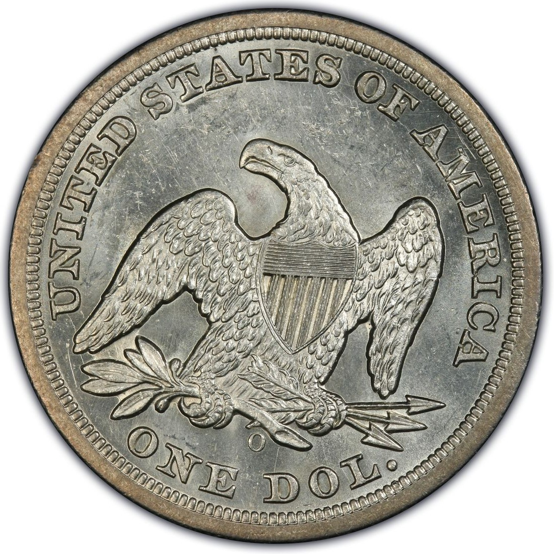 1850 Seated Liberty Silver Dollar Values And Prices Past