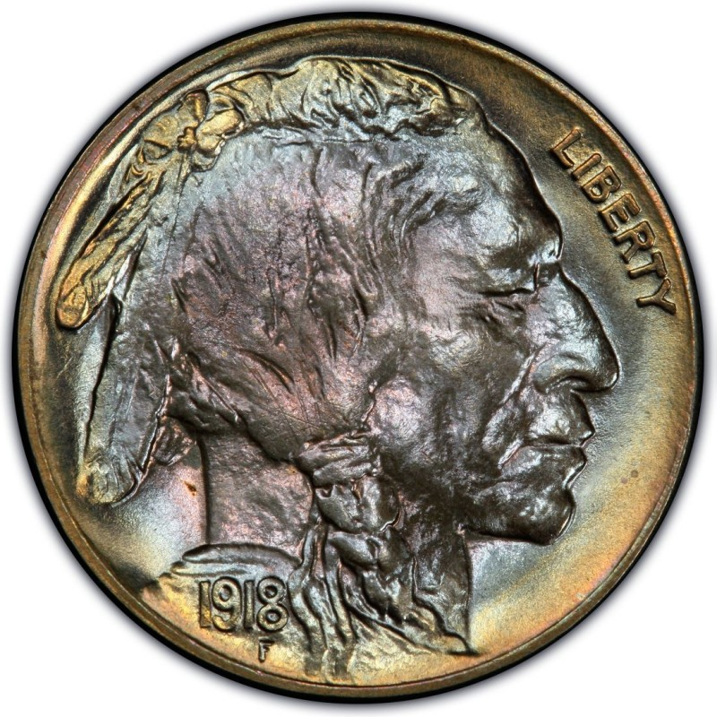 1918 Buffalo Nickel Values And Prices Past Sales
