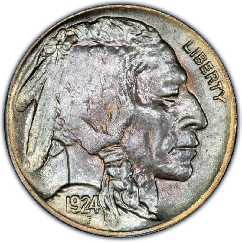 1924 Buffalo Nickel Values And Prices Past Sales