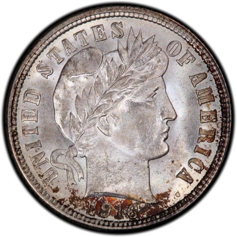 1916 Barber Dime Values And Prices Past Sales