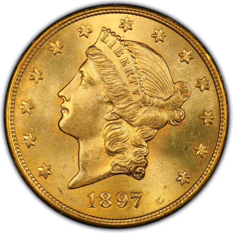 1897 Liberty Head Double Eagle Values And Prices Past