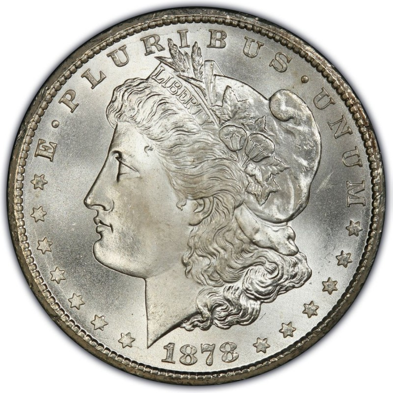 1878 Morgan Silver Dollar Values And Prices Past Sales