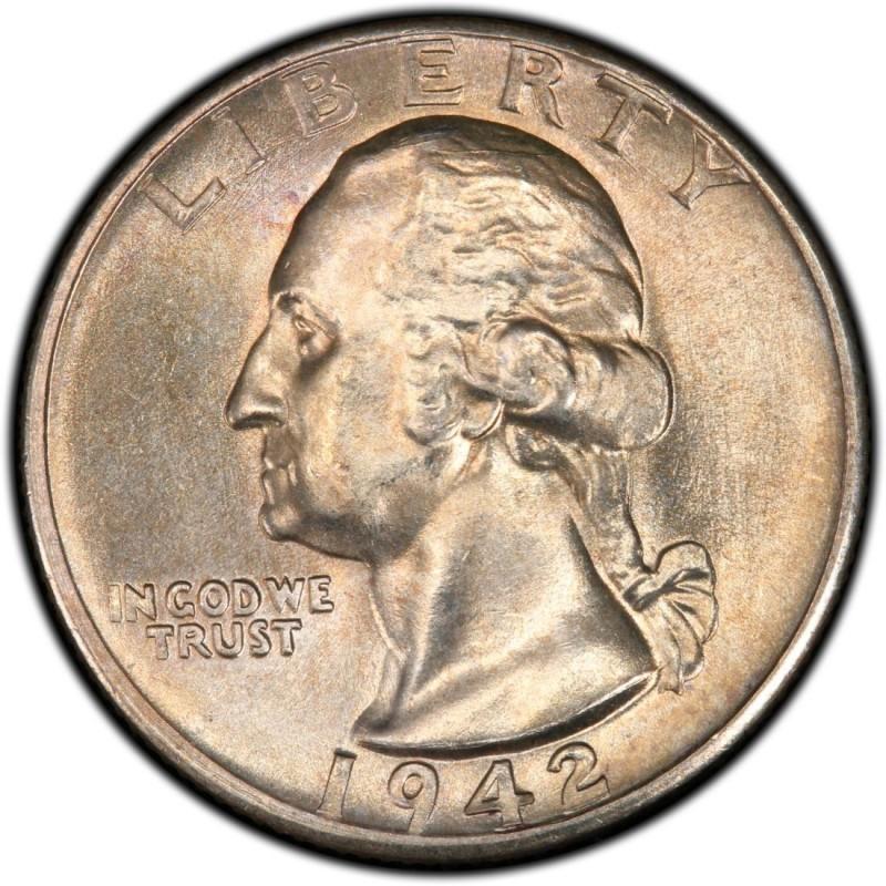 1942 Washington Quarter Values And Prices Past Sales
