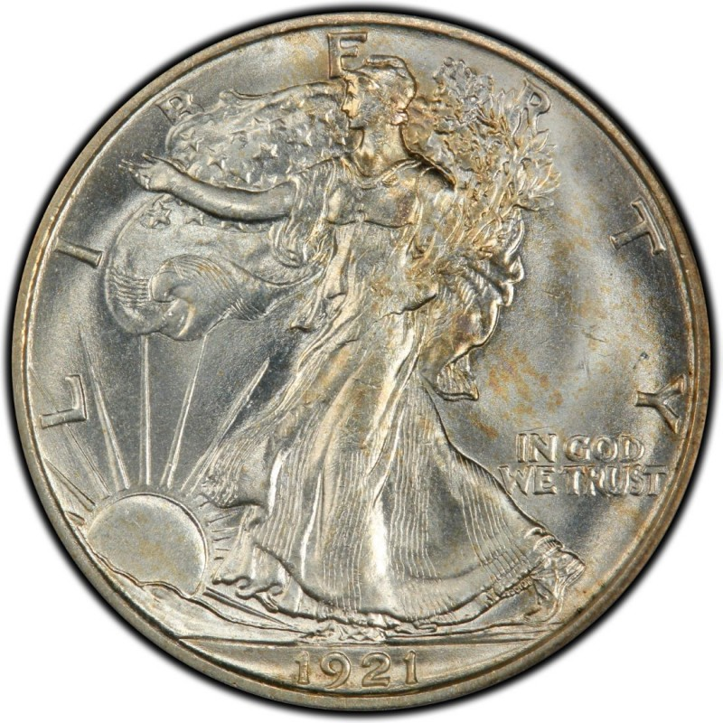 1921 Walking Liberty Half Dollar Values And Prices Past