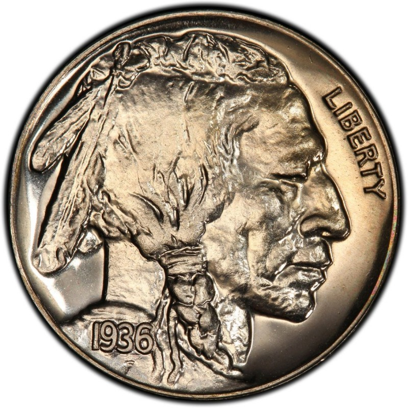 1936 Buffalo Nickel Values And Prices Past Sales
