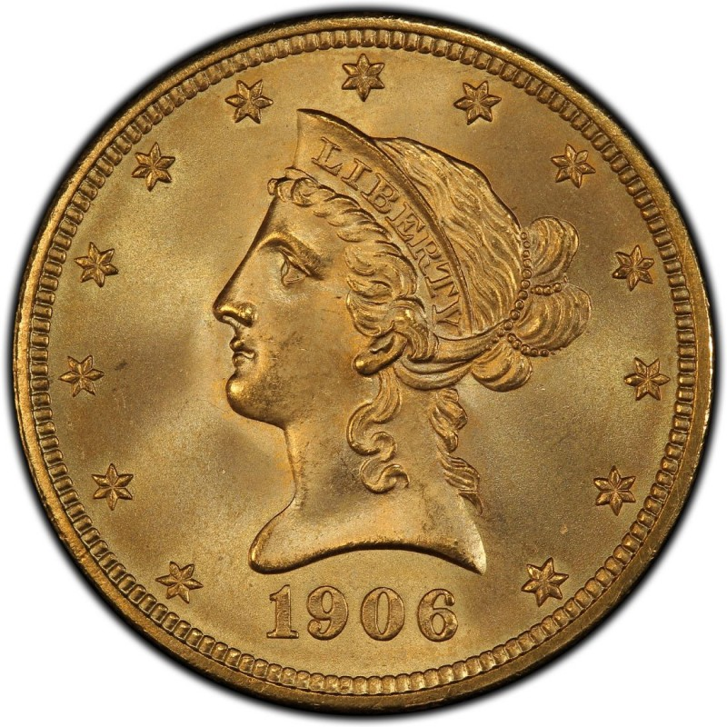 1906 Liberty Head 10 Gold Eagle Values And Prices Past