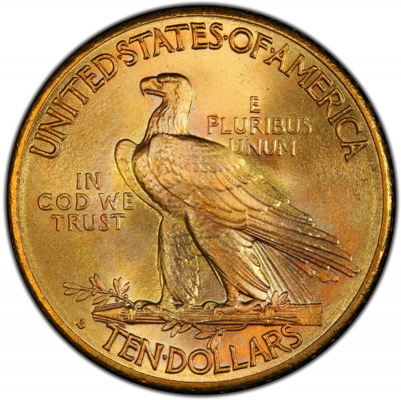 1914 Indian Head Gold 10 Eagle Values And Prices Past