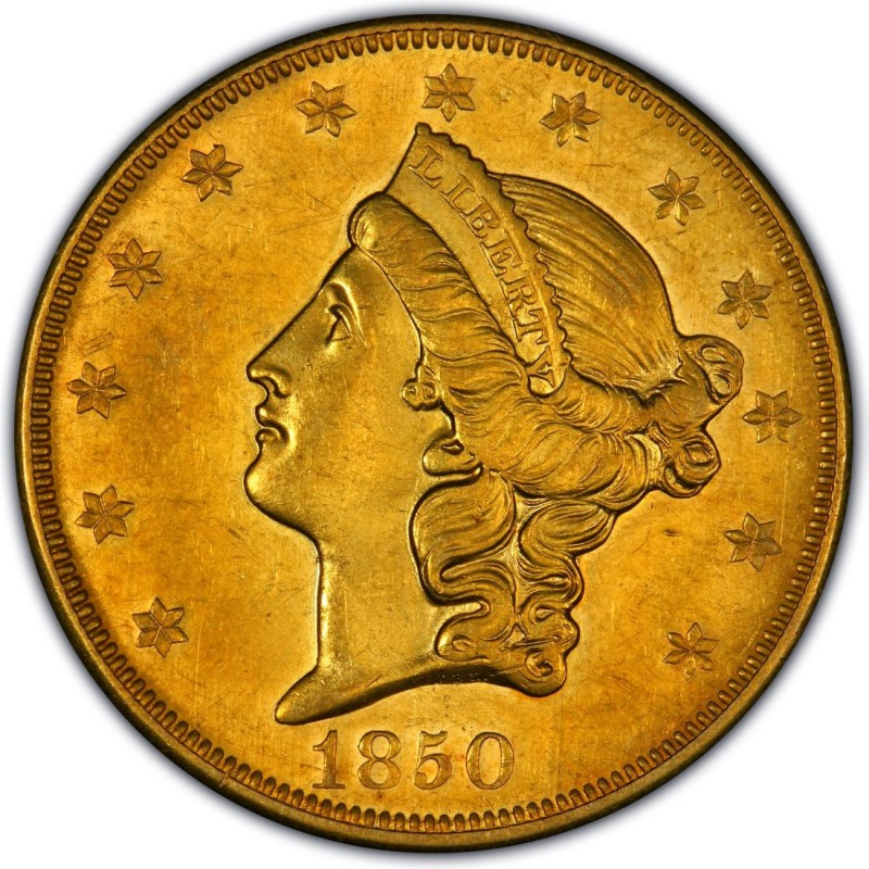 1850 Liberty Head Double Eagle Values And Prices Past