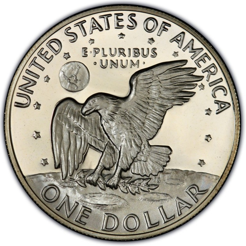 1973 Eisenhower Dollar Values And Prices Past Sales