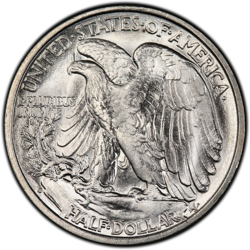 1941 Walking Liberty Half Dollar Values And Prices Past