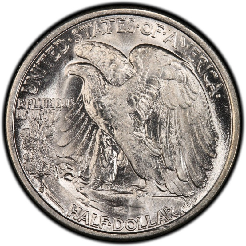 1935  Walking Liberty Silver Half Dollar Key Date