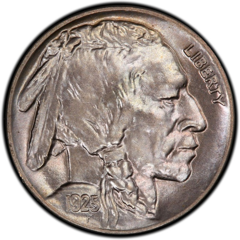 Price per Each Coin 1925 US Buffalo Nickel in Very Good Condition