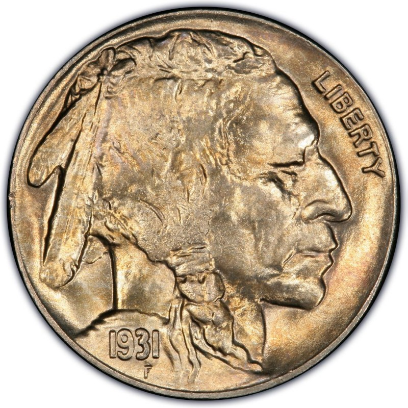 1931 Buffalo Nickel Values And Prices Past Sales