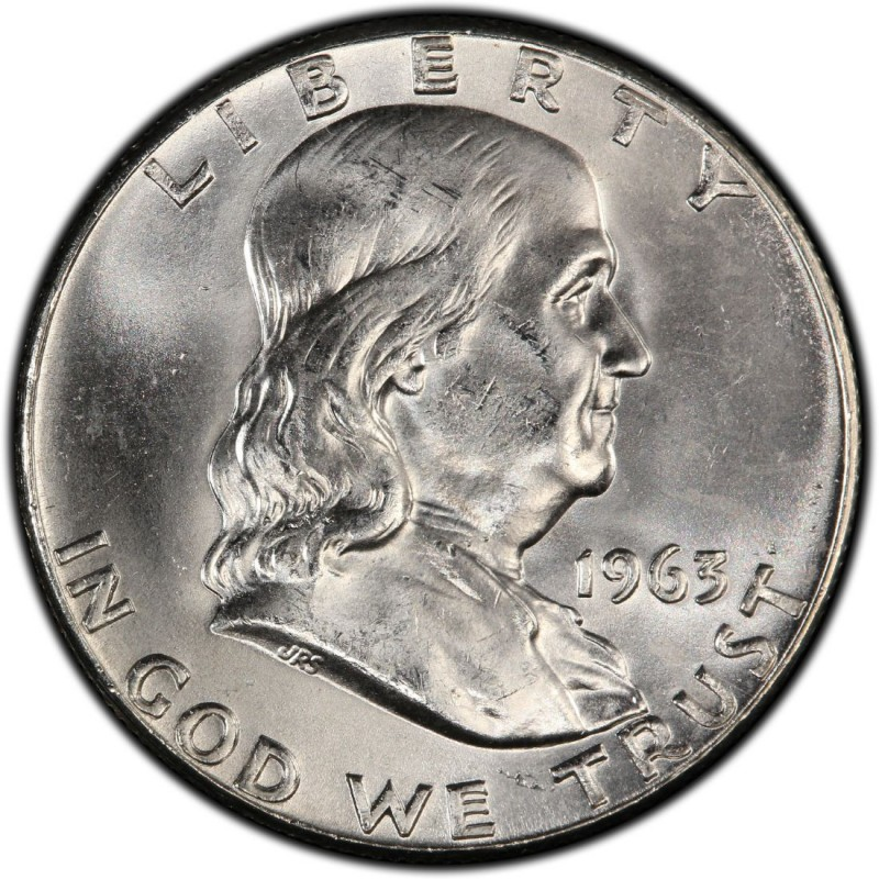 1963 Franklin Half Dollar Values And Prices Past Sales