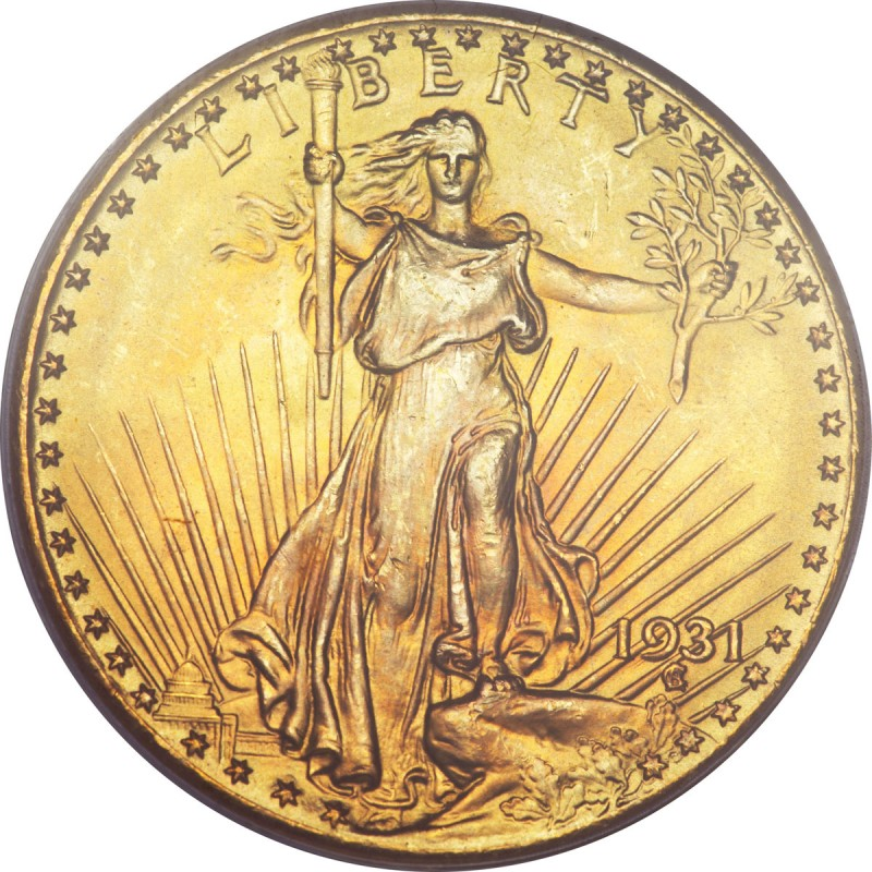 1931 Saint Gaudens Double Eagle Values And Prices Past