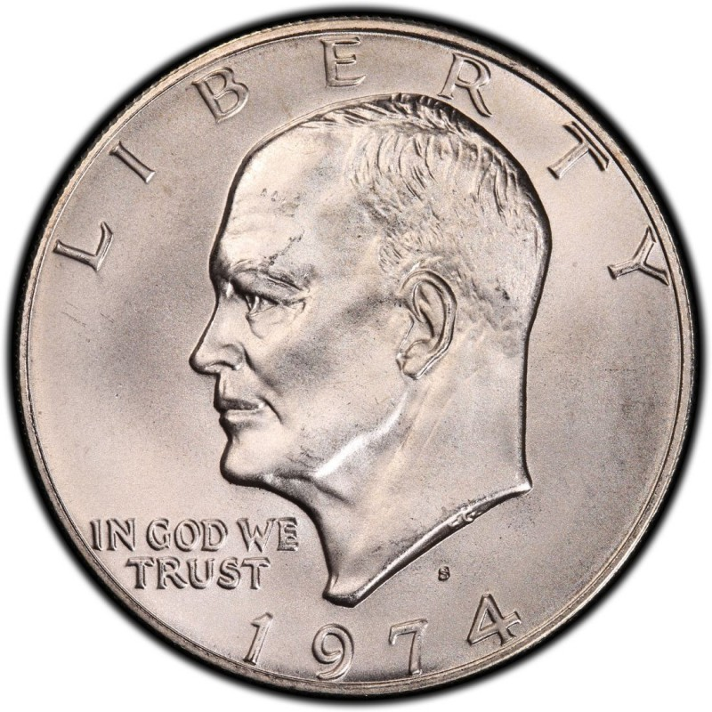 1974 Eisenhower Dollar Values And