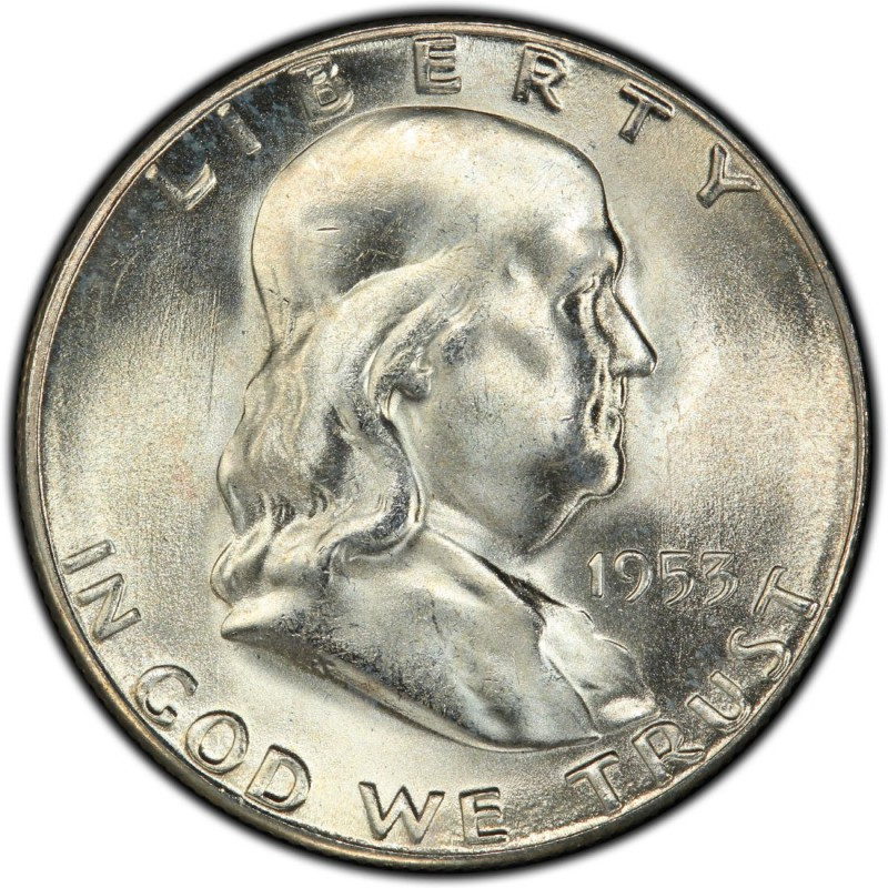 1953 Franklin Half Dollar Values And Prices Past Sales
