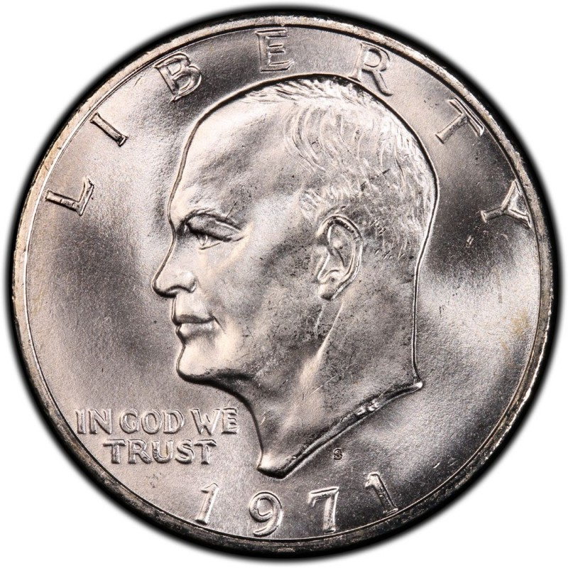 1971 Eisenhower Dollar Values And Prices Past Sales Coinvalues