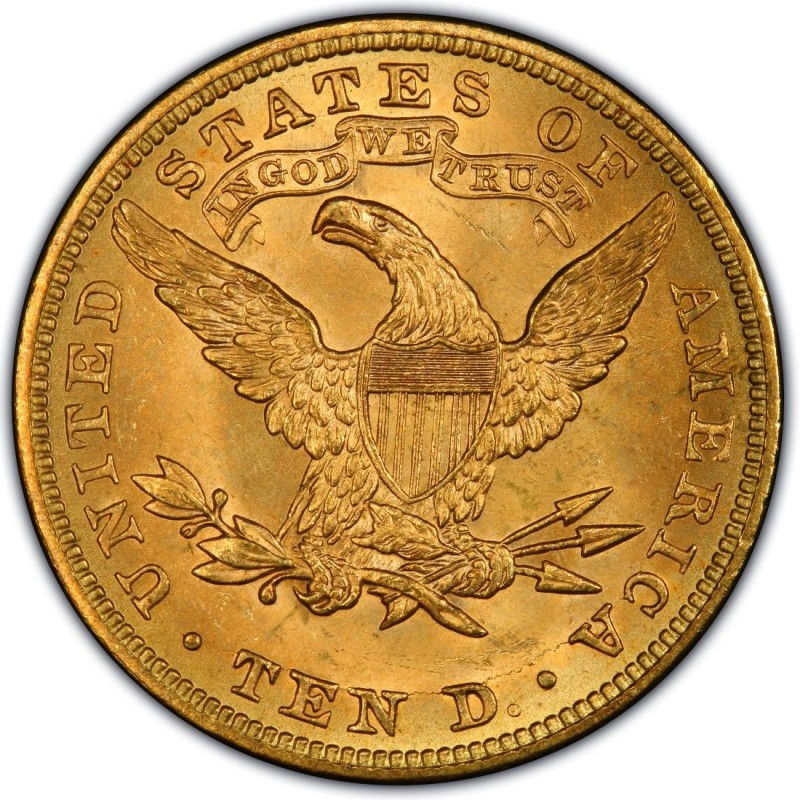 1881 Liberty Head 10 Gold Eagle Values And Prices Past