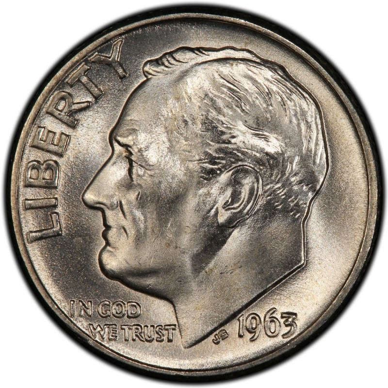 1963 Roosevelt Dime Values And Prices Past Sales