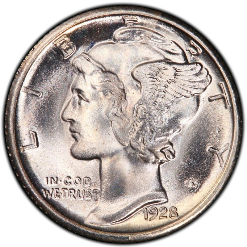 1928 Mercury Dime Values And Prices Past Sales