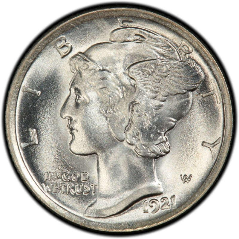 1921 Mercury Dime Values And Prices Past Sales