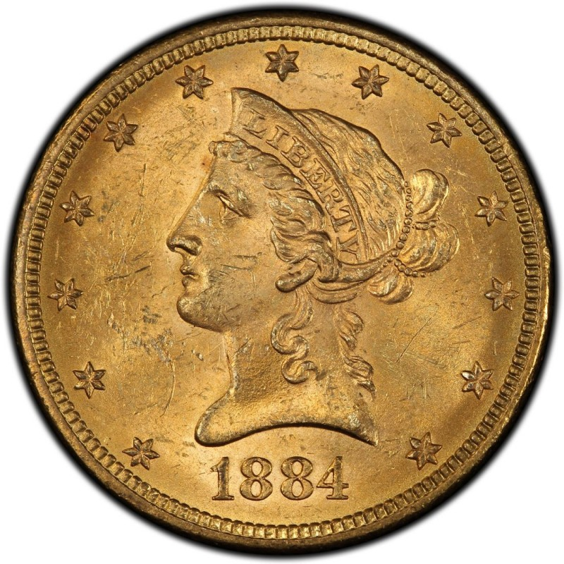 1884 Liberty Head 10 Gold Eagle Values And Prices Past