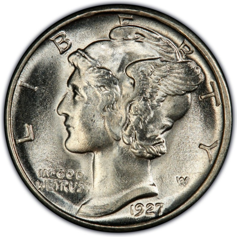 1927 Mercury Dime Values And Prices Past Sales